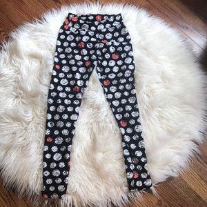 polka dot lularoe leggings